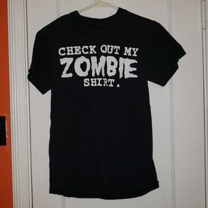 Check Out My Zombie Shirt